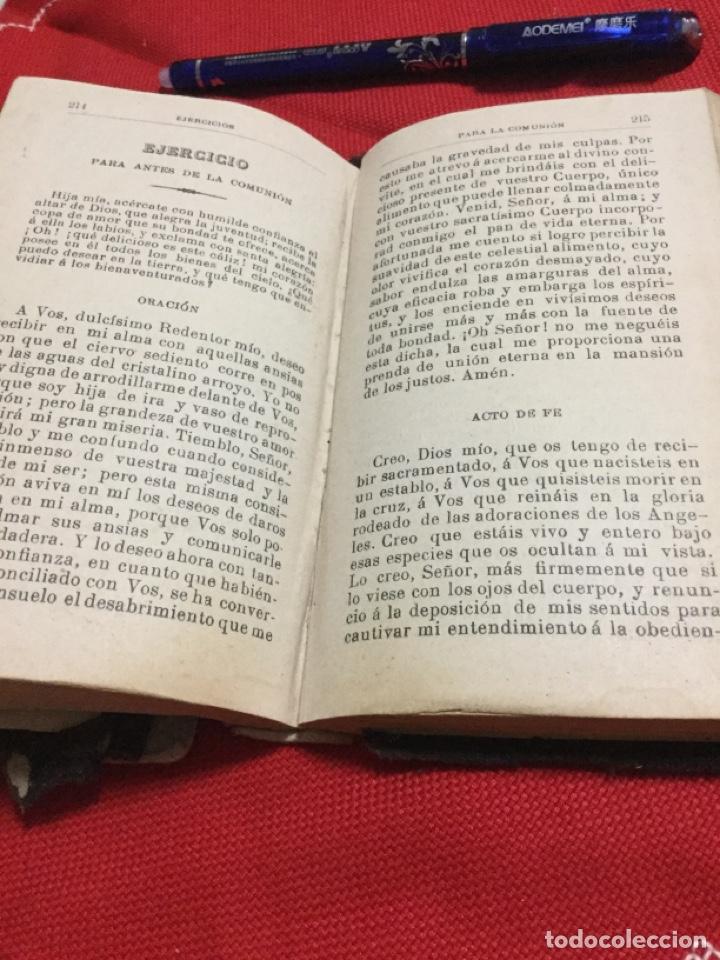Libros antiguos: MANUAL DE DEVOCIÓN -1900 - Foto 2 - 191487833