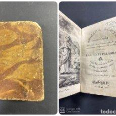 Libros antiguos: SEMANA SANTA AUMENTADA. LAS SIETE PALABRAS. MADRID, 1841. PAGS: 445. Lote 191581736