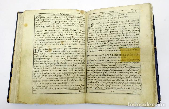 Libros antiguos: 1725 - Fernández Zapata - MALDICIONES en Catalán - Rituale majoricense juxta Rituale Romanum - Foto 9 - 191866878