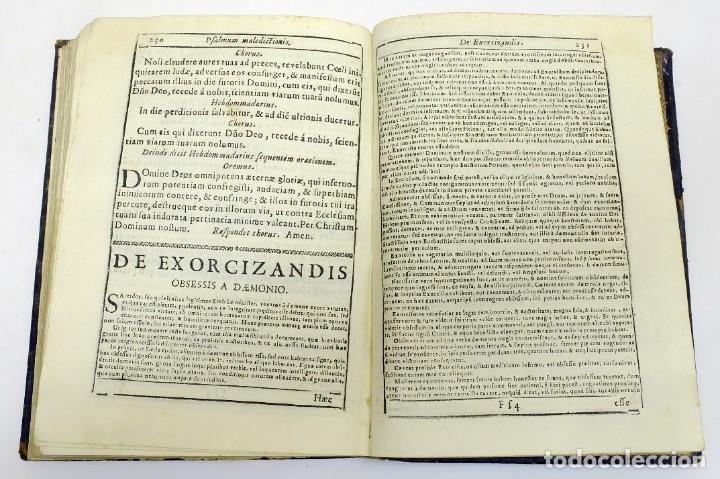 Libros antiguos: 1725 - Fernández Zapata - MALDICIONES en Catalán - Rituale majoricense juxta Rituale Romanum - Foto 13 - 191866878