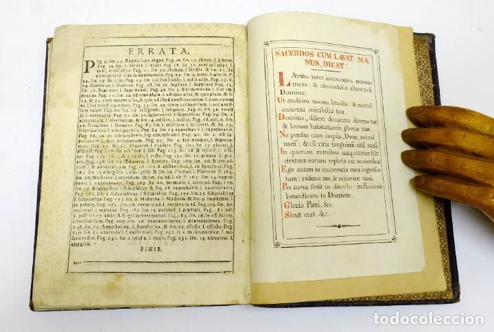 Libros antiguos: 1725 - Fernández Zapata - MALDICIONES en Catalán - Rituale majoricense juxta Rituale Romanum - Foto 14 - 191866878