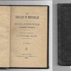 Libros antiguos: LO COFRADE DE MONTSERRAT - ANY 1902 - BREU MANUAL DE NOTICIES HISTORIQUES. Lote 191960500