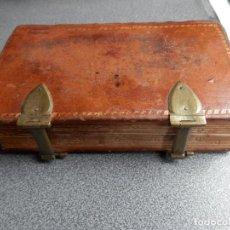Libros antiguos: ENCUADERNACIÓN LUJO AÑO 1743 - OFFICIUM IN FESTO NATIVITATIS DOMINI - HIERROS CIERRE Y GRABADOS. Lote 192005017