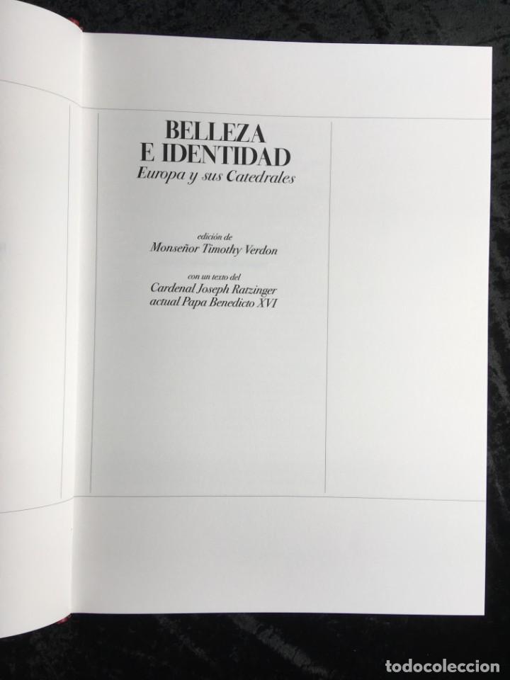 Libros antiguos: BELLEZA E IDENTIDAD - EUROPA Y SUS CATEDRALES - FRANCO MARIA RICCI - MONUMENTAL - COLECCIONISTAS - Foto 10 - 192416206