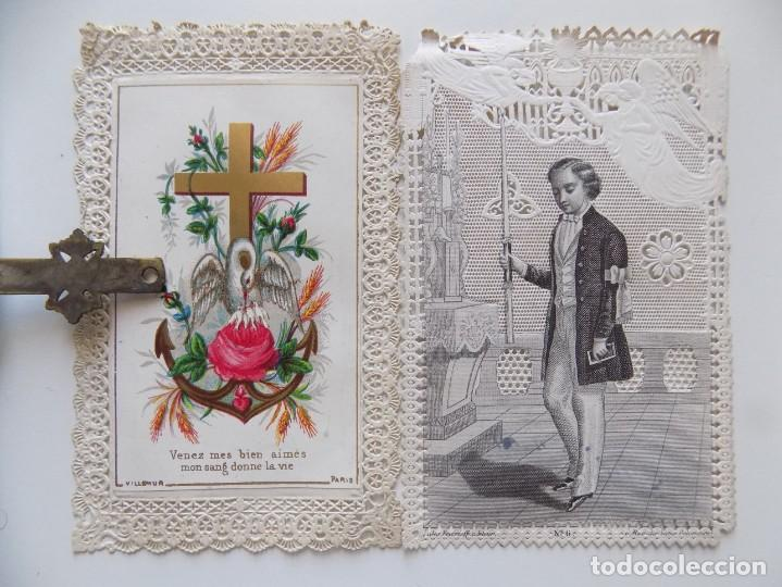Libros antiguos: LIBRERIA GHOTICA. LUJOSO BREVIARIUM ROMANUM DE LIMOGES 1870.CON ESTAMPAS TROQUELADAS. - Foto 2 - 192749372