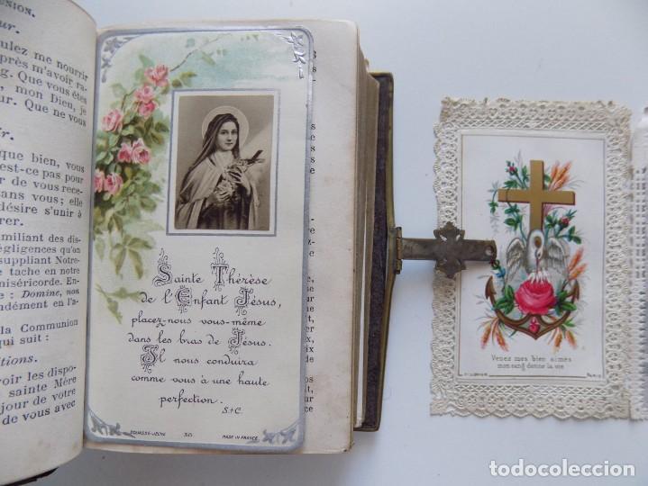 Libros antiguos: LIBRERIA GHOTICA. LUJOSO BREVIARIUM ROMANUM DE LIMOGES 1870.CON ESTAMPAS TROQUELADAS. - Foto 3 - 192749372