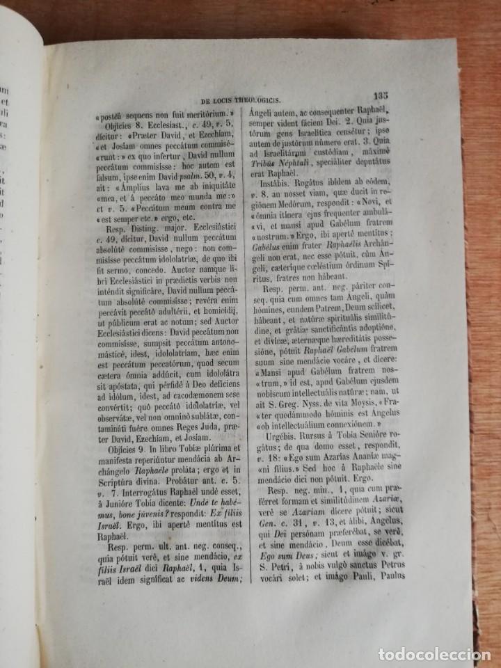 Libros antiguos: Institutiónes Theológicae. Tomus Primus. Thomae Aquinátis. 1861 - Foto 4 - 193245151