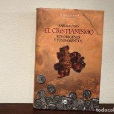 Libros antiguos: EL CRISTIANISMO. SUS ORÍGENES Y FUNDAMENTOS. KARL KAUTSKY. SIN ESTRENAR.. Lote 193999572