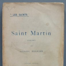 Libros antiguos: 1929.- SAINT MARTIN. REGNIER. Lote 194229921