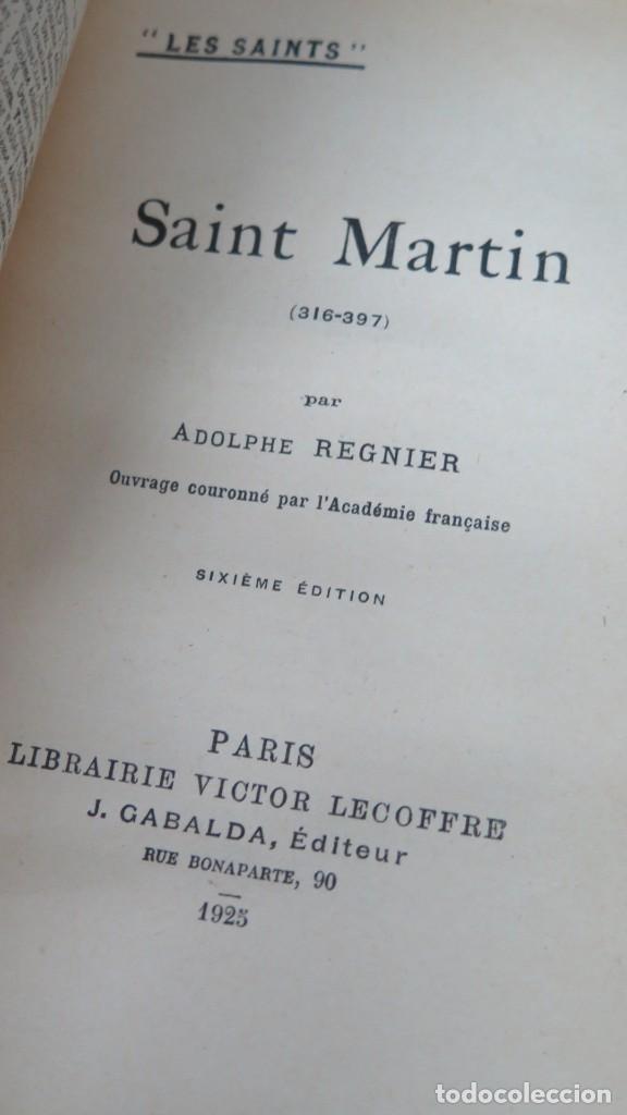 Libros antiguos: 1929.- SAINT MARTIN. REGNIER - Foto 2 - 194229921