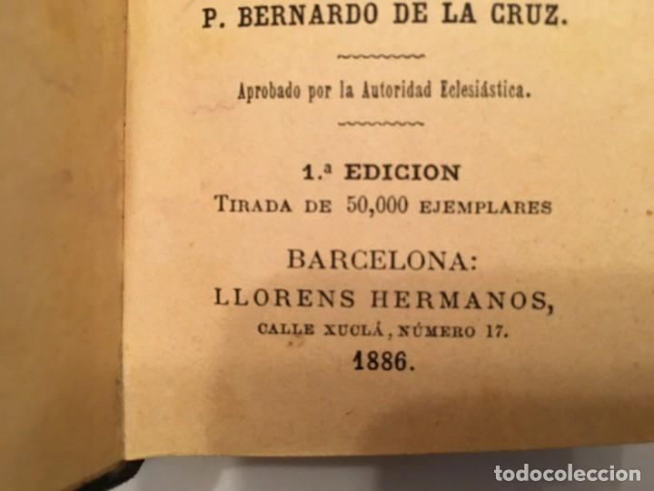 Libros antiguos: libro el devoto feligres,antiguo de 1886 es 1ª edicion tiene 134 años ver fotos - Foto 3 - 194230128