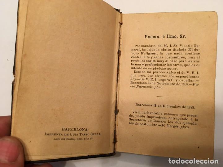 Libros antiguos: libro el devoto feligres,antiguo de 1886 es 1ª edicion tiene 134 años ver fotos - Foto 4 - 194230128