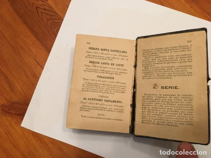 Libros antiguos: libro el devoto feligres,antiguo de 1886 es 1ª edicion tiene 134 años ver fotos - Foto 6 - 194230128