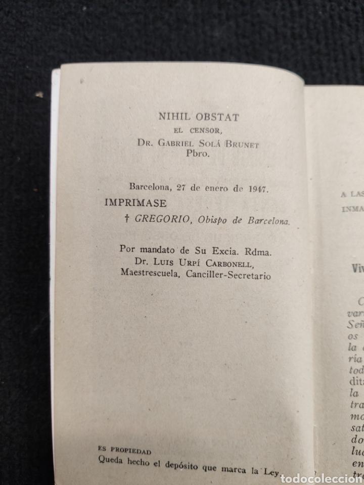 Libros antiguos: LIBRO EL CUARTO DE HORA DE ORACIÓN - Foto 6 - 194233637
