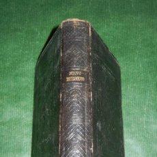 Libros antiguos: NUOVO TESTAMENTO, TRAD. DIODATI LONDRES 1866 - SOCIETA BIBLICA BRITANNICA E FORESTIERA - EN ITALIANO. Lote 194234690