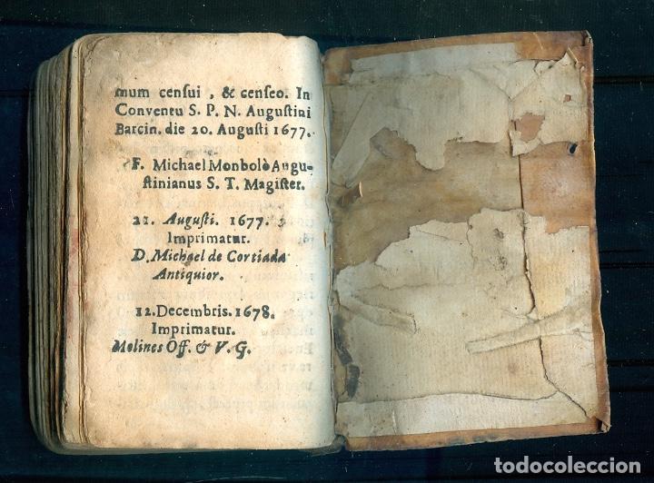 Libros antiguos: NUMULITE L1224 Thomae Kempis De imitatione Christi Libri Quatuor Anno 1667 Barcino Francisci Llopis - Foto 2 - 194237280