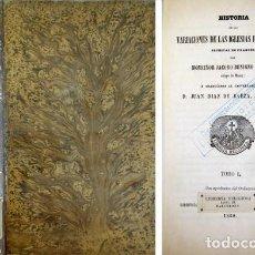 Libros antiguos: BOSSUET, JACQUES B. HISTORIA DE LAS VARIACIONES DE LAS IGLESIAS PROTESTANTES. 1860.. Lote 194268570