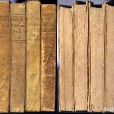 Libros antiguos: BOSSUET, JACQUES B. DEFENSA DE LA DECLARACIÓN DE LA ASAMBLEA DEL CLERO DE FRANCIA DE 1682. 6 V. 1771. Lote 194269040