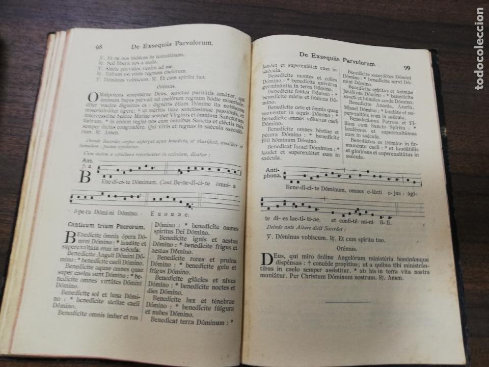 Libros antiguos: OFFICIUM ET MISSAE. PRO DEFUNCTIS CUM EXSEQUIARUM ORDINE. Nº 732. - Foto 5 - 194281215