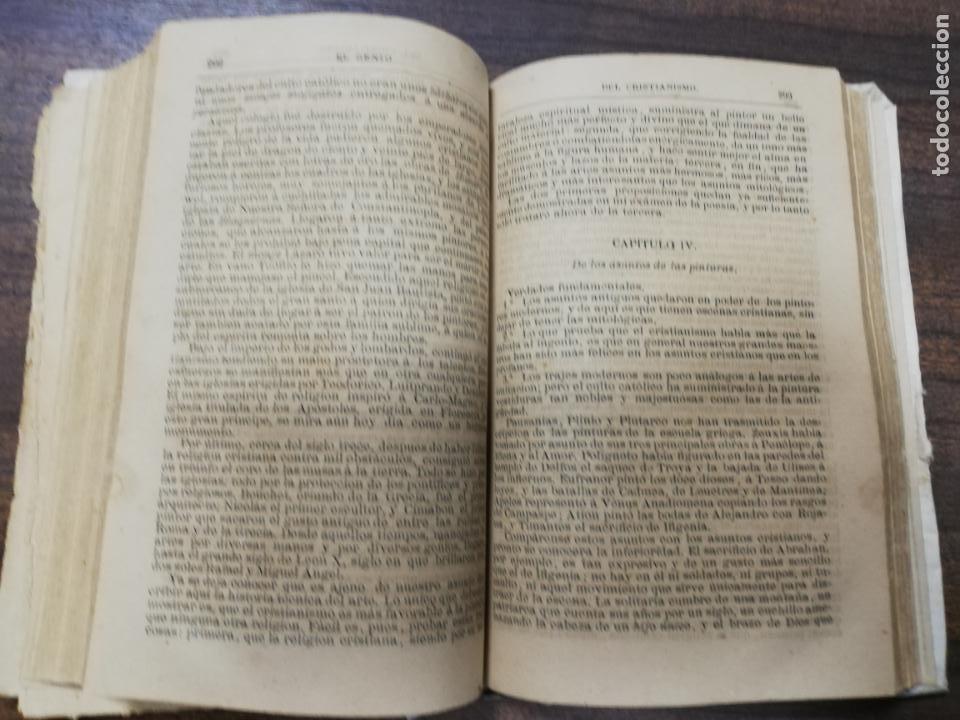 Libros antiguos: EL GENIO DEL CRISTIANISMO VIZCONDE DE CHATEAUBRIAND. SEGUNDA EDICION. 1879. - Foto 6 - 194282010