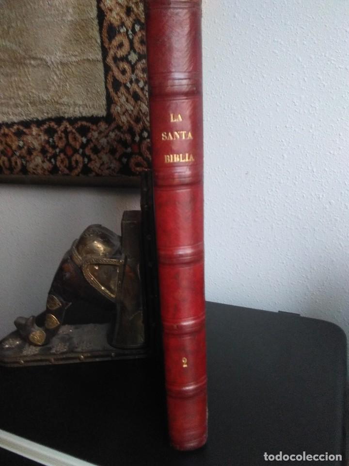 LAS PRIMERAS BELLEZAS DEL MUNDO. SANTA BIBLIA. JUSTO UGUET. TOMO II. ANTIGUO TESTAMENTO. RIERA 1878 (Libros Antiguos, Raros y Curiosos - Religión)