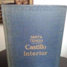 Libros antiguos: SANTA TERESA, CASTILLO INTERIOR. / MAUCCI 1917. DIBUJOS DE JUAN VILA. Lote 194305205