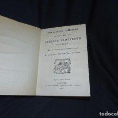 Libros antiguos: RARO. SANTORAL DE LA DIÓCESIS OBISPADO DE LEON. PROPIA SANCTORUM OFFICIA.. Lote 194318863