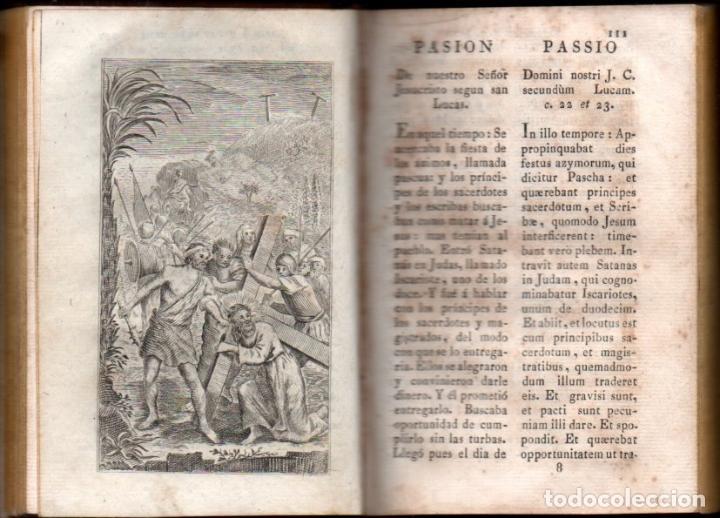 Libros antiguos: JOSEF RIGUAL . OFICIO DE LA SEMANA SANTA EN LATÍN Y CASTELLANO (PIFERRER, 1826) - Foto 2 - 194405555