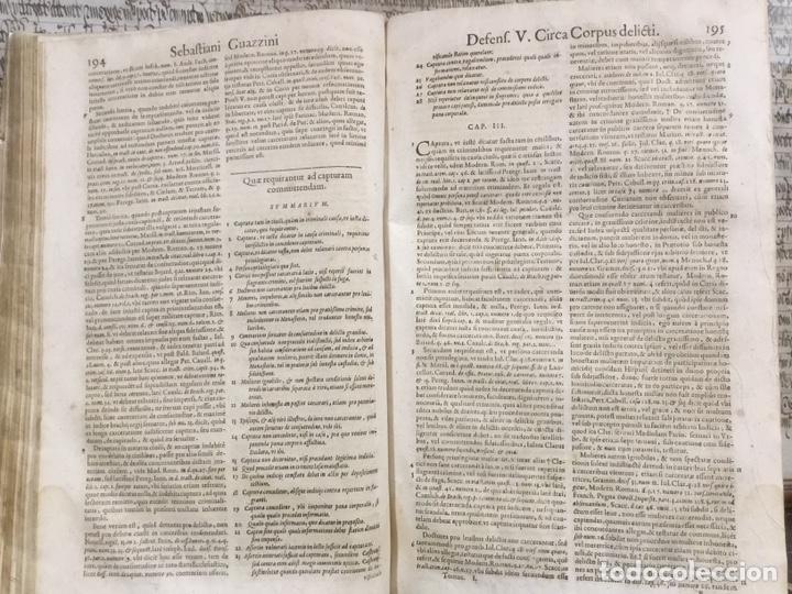 Libros antiguos: Tratado sobre la defensa de los condenados por la inquisición, Sebastiani Guazzini , Ginebra 1654 - Foto 4 - 194503938