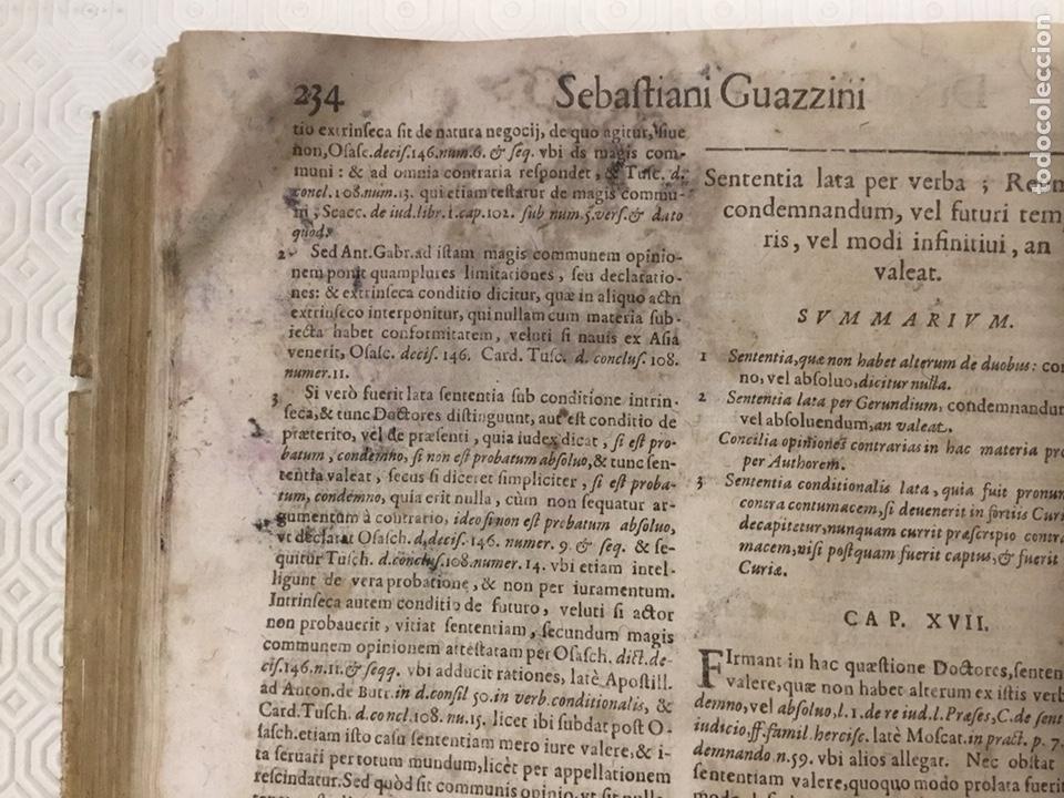 Libros antiguos: Tratado sobre la defensa de los condenados por la inquisición, Sebastiani Guazzini , Ginebra 1654 - Foto 9 - 194503938