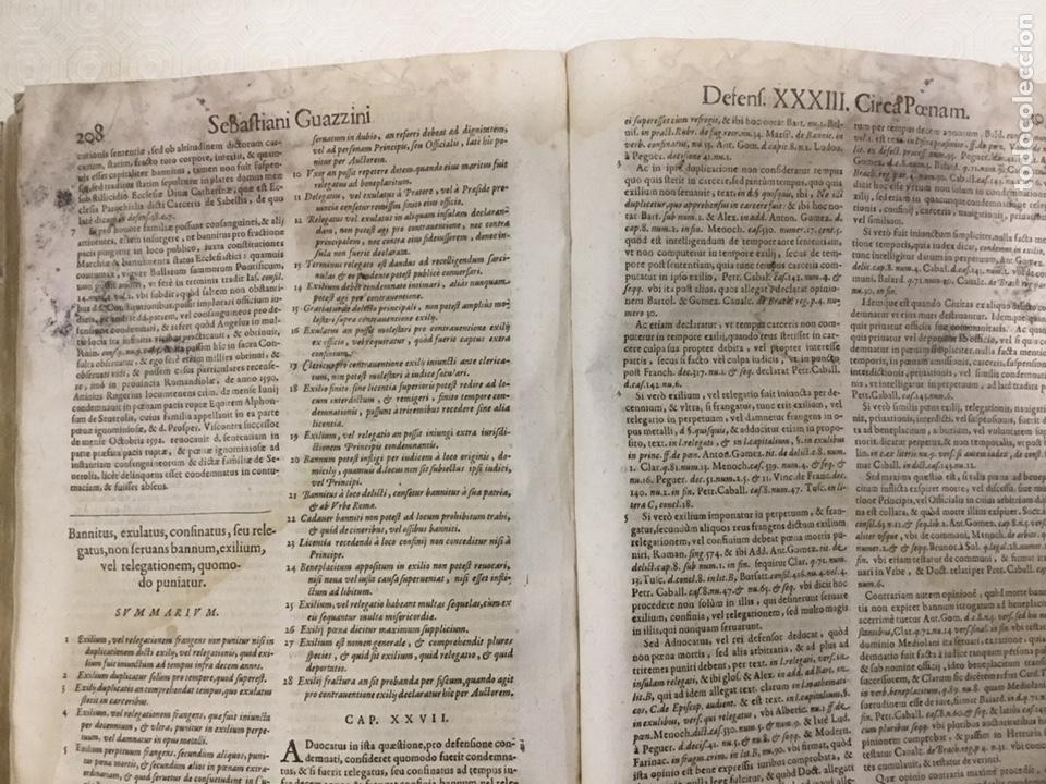 Libros antiguos: Tratado sobre la defensa de los condenados por la inquisición, Sebastiani Guazzini , Ginebra 1654 - Foto 10 - 194503938