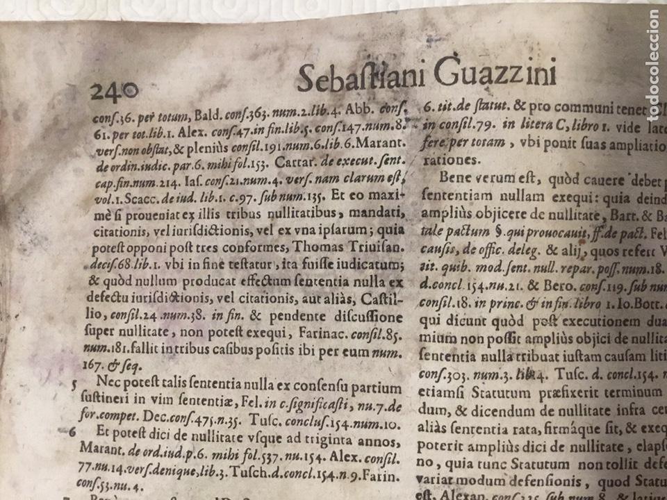 Libros antiguos: Tratado sobre la defensa de los condenados por la inquisición, Sebastiani Guazzini , Ginebra 1654 - Foto 11 - 194503938