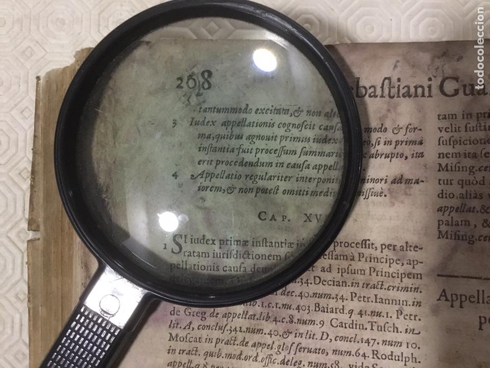 Libros antiguos: Tratado sobre la defensa de los condenados por la inquisición, Sebastiani Guazzini , Ginebra 1654 - Foto 13 - 194503938