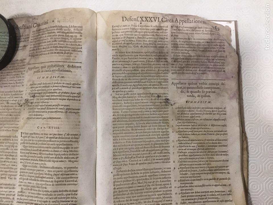 Libros antiguos: Tratado sobre la defensa de los condenados por la inquisición, Sebastiani Guazzini , Ginebra 1654 - Foto 14 - 194503938