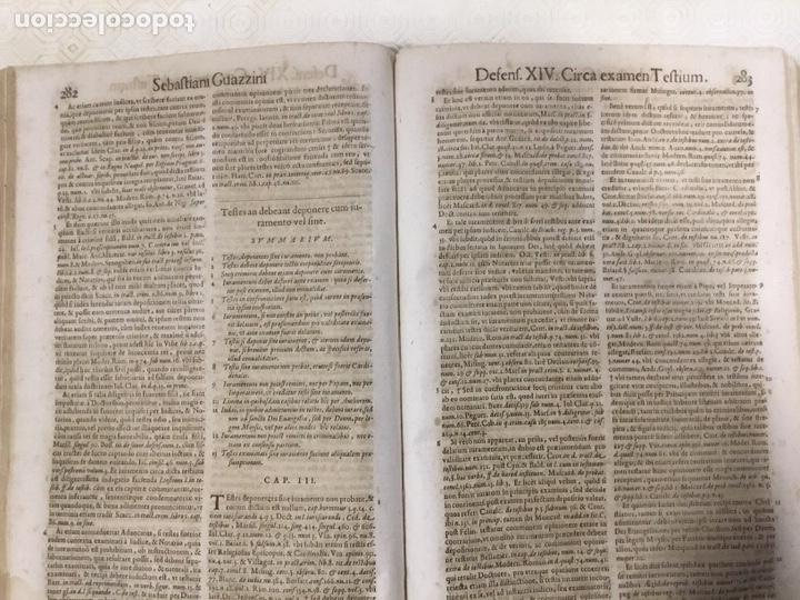 Libros antiguos: Tratado sobre la defensa de los condenados por la inquisición, Sebastiani Guazzini , Ginebra 1654 - Foto 15 - 194503938