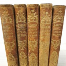 Libros antiguos: 1860 - MÍSTICA ESPAÑOLA - SOR MARÍA JESÚS DE AGREDA: MÍSTICA CIUDAD DE DIOS - RELIGIÓN - SIGLO XIX. Lote 194543560