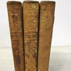 Libros antiguos: ESTUDIO FILOSOFICO SOBRE EL CRISTIANISMO, AUGUSTO NICOLÁS 1854 OBRA COMPLETA. Lote 194543717