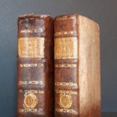 Libros antiguos: TRACTATUS DE VERA RELIGIONE AD USUM SEMINARIORUM, 2 TOMOS. BAILLY. BIDAULT- 1784. Lote 194589063