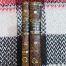 Libros antiguos: 1829. ECCLESIASTICUM ANTIQUITATUM. VILLODAS. . Lote 194786668