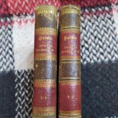 Libros antiguos: 1858. HISTORIAE ECCLESIASTICAE. PALMA. COMPLETO. . Lote 194787457