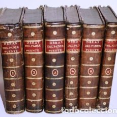 Libros antiguos: OBRAS. 6 TOMOS - PUENTE, PADRE LUYS DE LA (DE LA COMPAÑÍA DE JESÚS). Lote 194876816