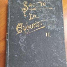 Libros antiguos: LA EUCARISTIA TOMO II. Lote 194877420