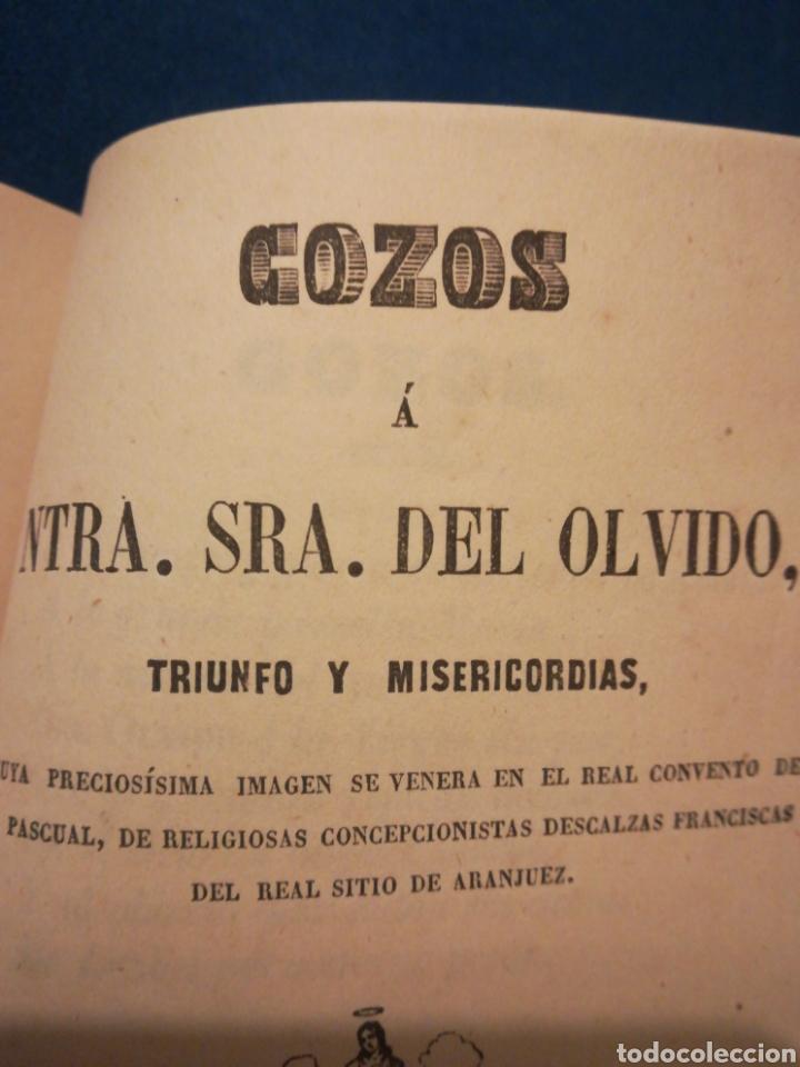 Libros antiguos: Novena de Nuestra Señora del Olvido Triunfo y Misericordia Madrid 1959 - Foto 2 - 194895016