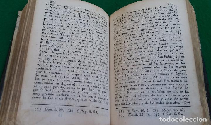 Libros antiguos: ESCASO LIBRO CATECISMO DE LA DOCTRINA CRISTIANA EXPLICADO, 1843, CUBIERTA EN PIEL. - Foto 6 - 194896762