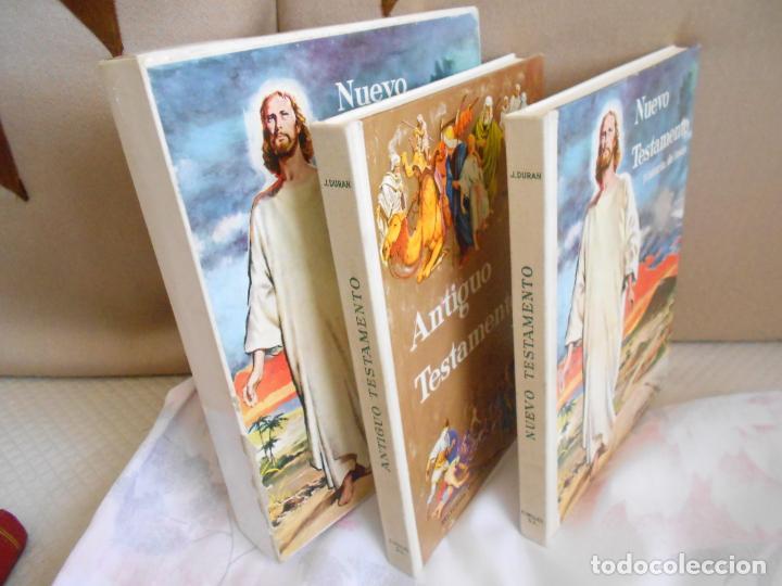 Libros antiguos: ANTIGUO Y NUEVO TESTAMENTO HISTORIA DE JESUS - Foto 4 - 194899550
