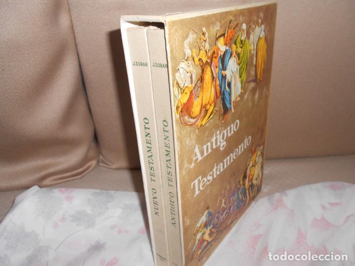 ANTIGUO Y NUEVO TESTAMENTO HISTORIA DE JESUS (Libros Antiguos, Raros y Curiosos - Religión)