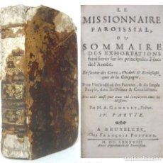 Libros antiguos: 1688 - LIBRO ANTIGUO SIGLO XVII - VIDAS DE SANTOS Y SANTAS - MILAGROS - ESPIRITUALIDAD +330 AÑOS!. Lote 194942648