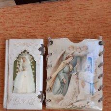 Libros antiguos: LIBRO PRIMERA COMUNIÓN COMO LAS FOTOS. Lote 195003636
