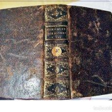 Libros antiguos: AÑO 1726: MADRID. PRECIOSO LIBRO ESPAÑOL DEL SIGLO XVIII. 576 PÁGINAS.. Lote 195055581