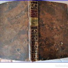 Libros antiguos: AÑO 1782. MADRID. OBRAS DE LUIS DE GRANADA. EXCELENTEMENTE CONSERVADO. ELEGANTE EJEMPLAR.. Lote 195055952